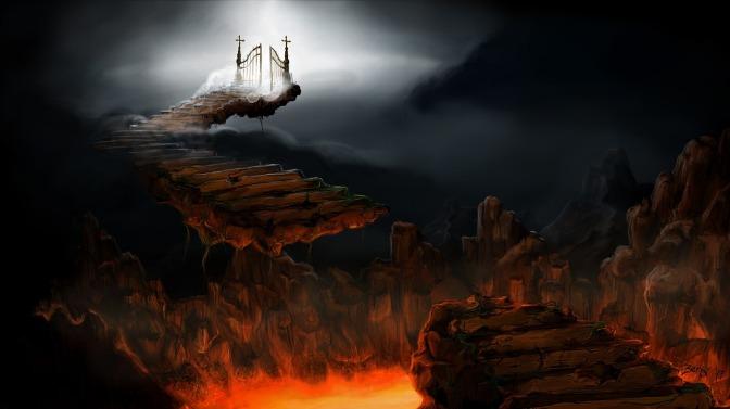 Revelaciones Parte VII – Para llegar al cielo hay que atravesar por el infierno